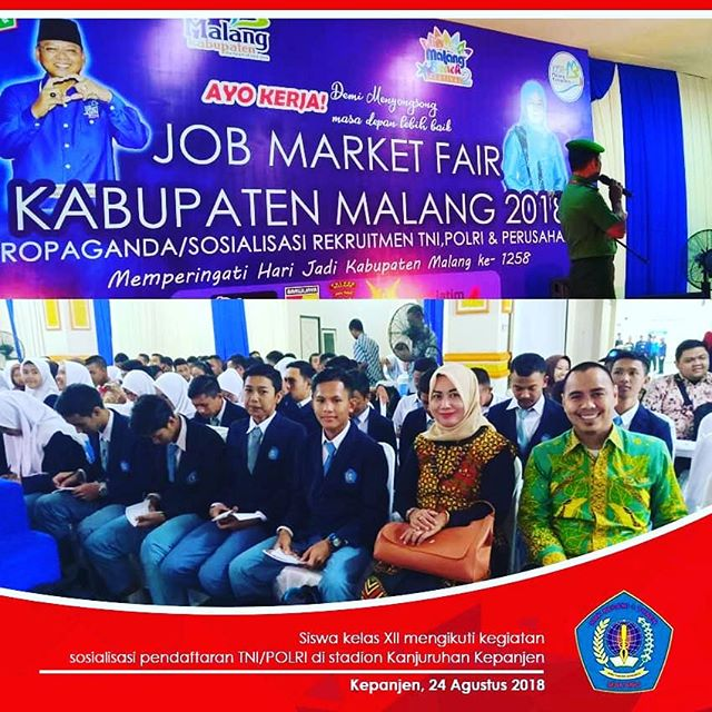 Job Market Fair Sosialisasi Rekruitmen TNI, POLRI, dan Perusahaan
