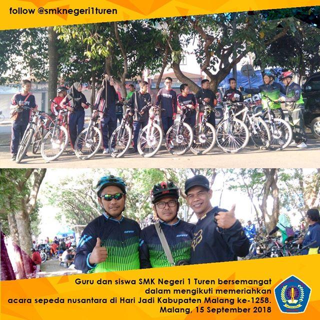 Meriahnya Acara Sepeda Nusantara
