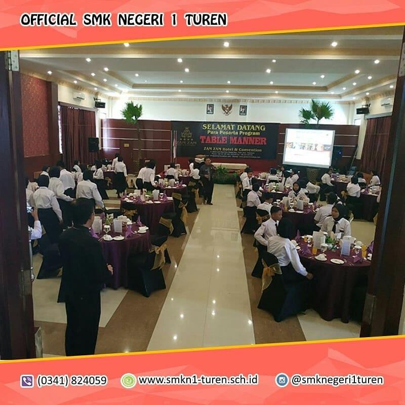 <i>Table Manner</i> diselenggarakan Guna Memantapkan Peserta Didik Perhotelan Menghadapi Dunia Kerja
