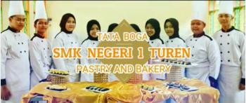 Karya Siswa Tata Boga Dalam Lomba Pastry And Bakery