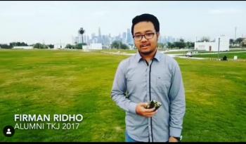 Alumnus SMKN 1 Turen Bidang Keahlian TKJ 2017 Sukses Berkarir Di Qatar