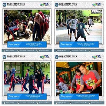 Classmeeting dalam rangka menyambut HUT Ke-52 SMK Negeri 1 Turen